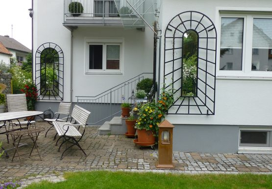 De Orangerie - voor een exclusieve Rozenboog of Obelisk - Rozen trellis R9 - 8